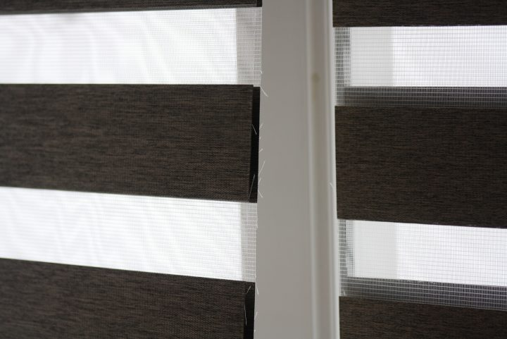 Zebra Blinds We Had Fitted